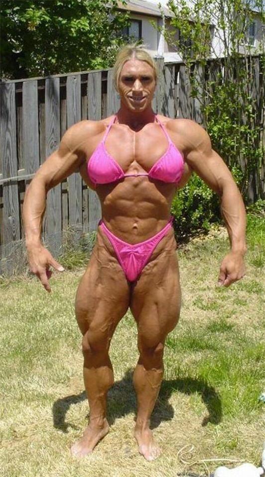 Women bodybuilders clitoris sreroids nice